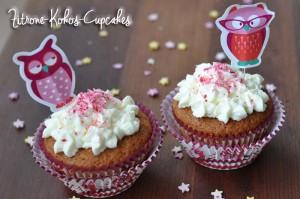 Zitrone-Kokos-Cupcakes