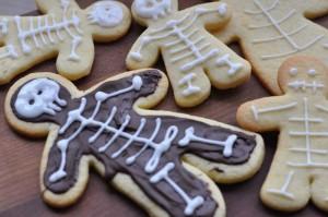 Skelett Cookies