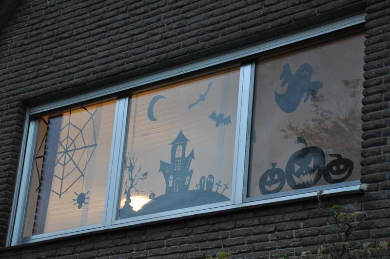 Halloween Fenster Silhouetten Www Sandrasbackfabrik De