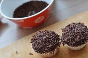 Schaurige Spinnen & Fliegen Muffins